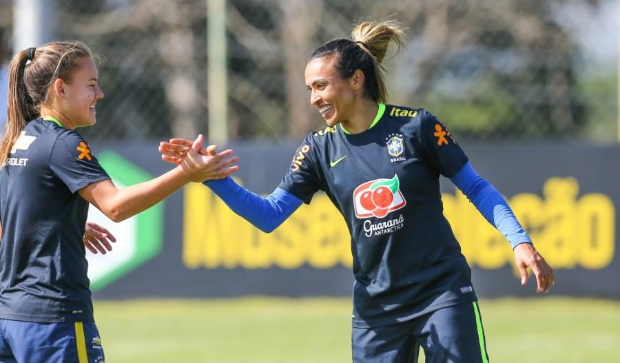 Futebol feminino abre a Olimpíada nesta quarta