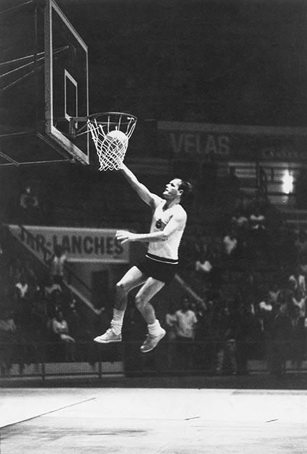 Wlamir Marques em 1967, em ação pelo Corinthians